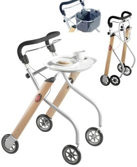 Indoor-Rollator Let's go